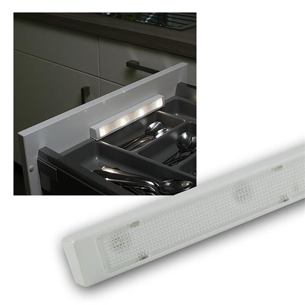 """LED Batterie-Schubladenleuchte """"LSL-4"""" kaltweiß"""