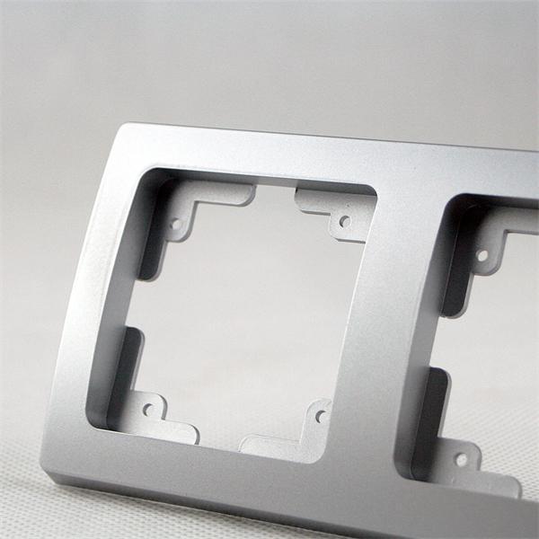 Rahmen 2-fach silber mit elegantem, kratzfestem Design