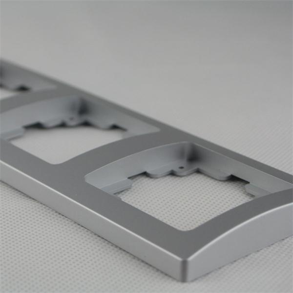 Schalterblende 4-fach leicht kombinierbar mit Produkten der DELPHI-Serie