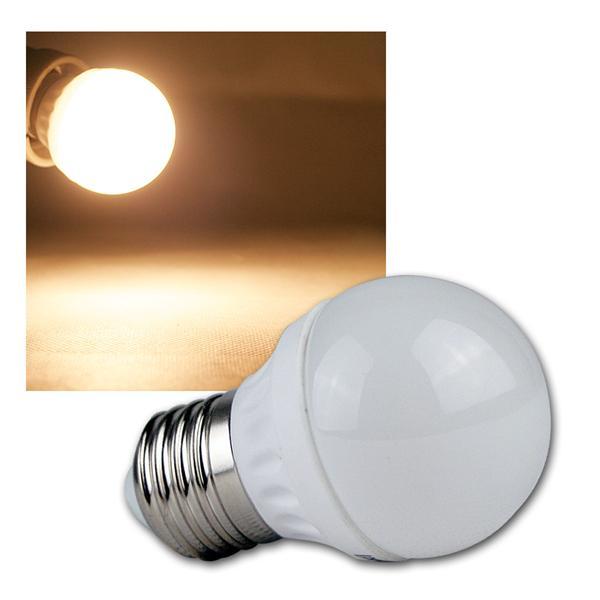 E27 LED Leuchtmittel T50 warm weiß 400lm 230V 5W