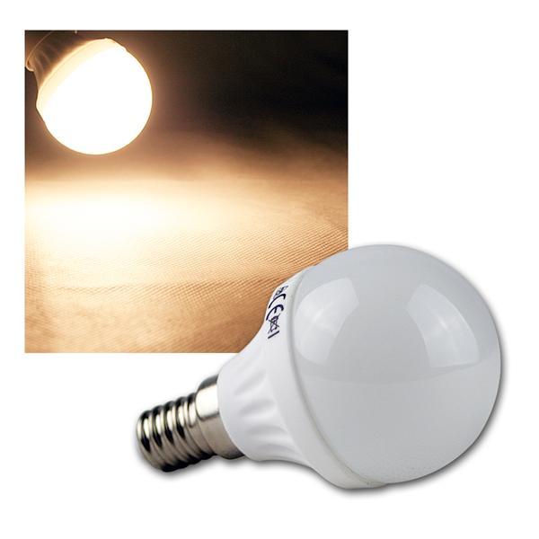 E14 LED Leuchtmittel T50 warm weiß 400lm 230V 5W