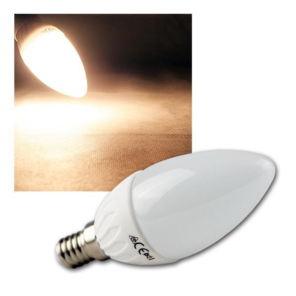 LED Kerzenlampe E14 K50 warm weiß 400lm 5W