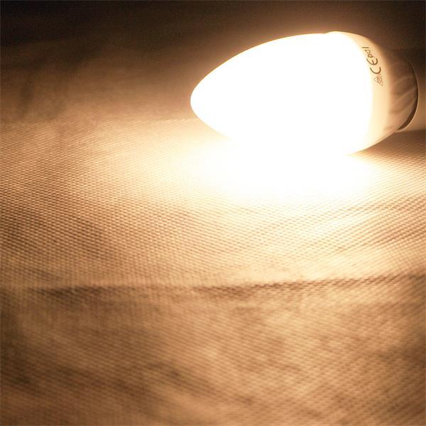 E14 LED Leuchtmittel mit ultrastarken 400 Lumen und breitem Abstrahlwinkel
