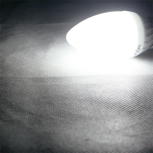 E14 LED Leuchtmittel mit ultrastarken 420 Lumen und breitem Abstrahlwinkel