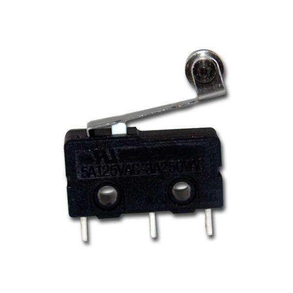 Mikroschalter mit Rolle 5A/125V, 3A/250V