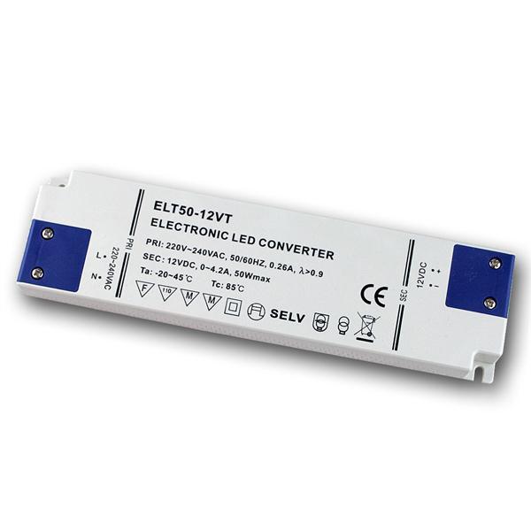 elektron. LED SuperSlimLine-Trafo 12V DC 50W IP20