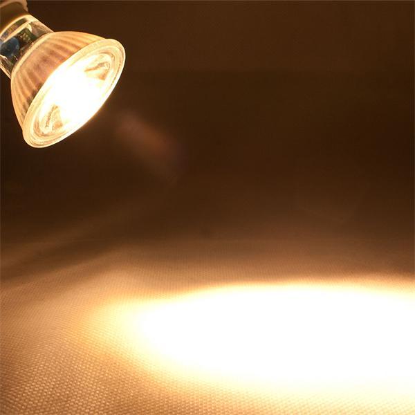 GU10 LED Spot mit 230lm Lichtstrom idealer Ersatz für 35W Halogenlampen