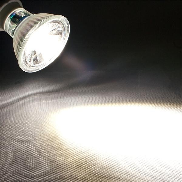 GU10 LED Spot mit 250lm Lichtstrom idealer Ersatz für 35W Halogenlampen