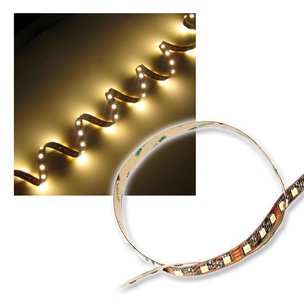 500cm SMD LED Streifen FLEXIBEL warm-weiß 3-Chip