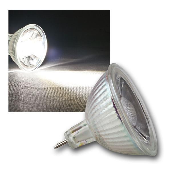 MR16 LED Strahler H35 COB Glas daylight 250lm