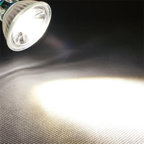 LED Leuchtmittel MR16 COB mit 250lm Lichtstrom ähnlich konventionellen 35W Strahlern