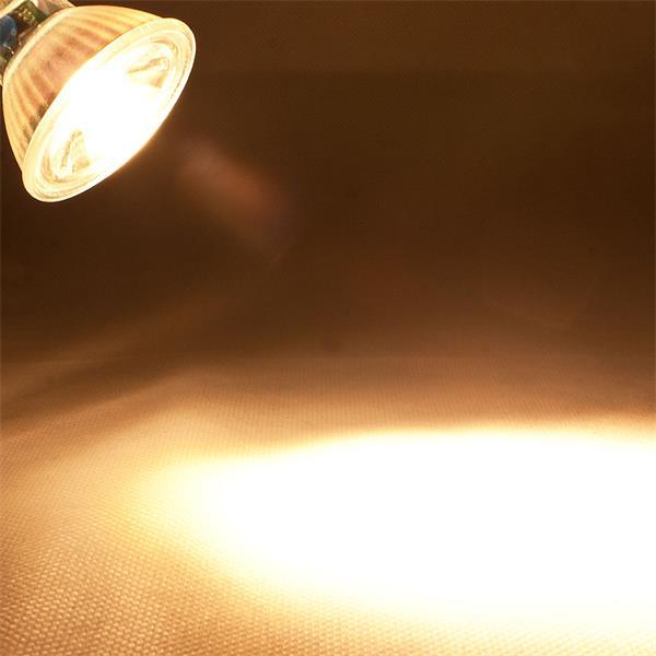 LED Leuchtmittel MR16 COB mit 400lm Lichtstrom ähnlich konventionellen 50W Strahlern