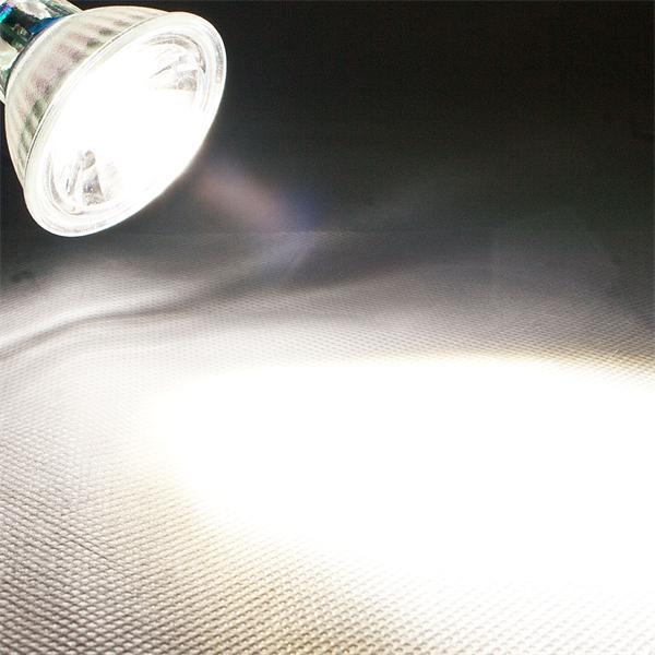 LED Leuchtmittel MR16 mit 420lm Lichtstrom ähnlich konventionellen 50W Strahlern