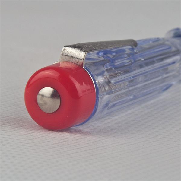 Einpoliger Spannungsprüfer mit Isoliertem Schaft und Prüfknopf