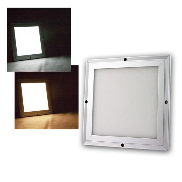 LED Licht-Panel CC-20S 20x20cm kaltweiß/warmweiß 950lm