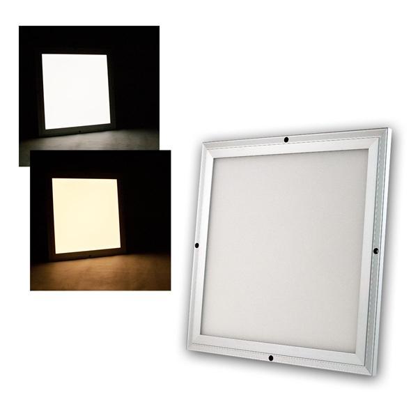 LED Licht-Panel CC-30S 30x30cm kaltweiß/warmweiß 1200lm