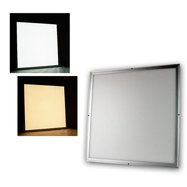 LED Licht-Panel CC-60S 60x60cm kaltweiß/warmweiß 4000lm