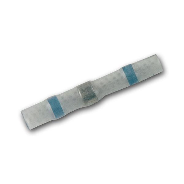 10 Lötverbinder, blau, für 2,0-4,0mm², Innenkleber