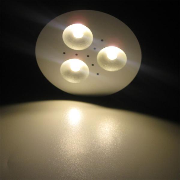 warmweißes Licht für moderne Beleuchtungssysteme in Wohnbereichen