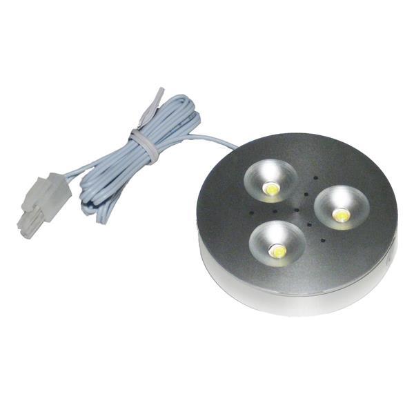 hocheffizientes LED Leuchtmittel mit gebürsteten Aluminiumgehäuse