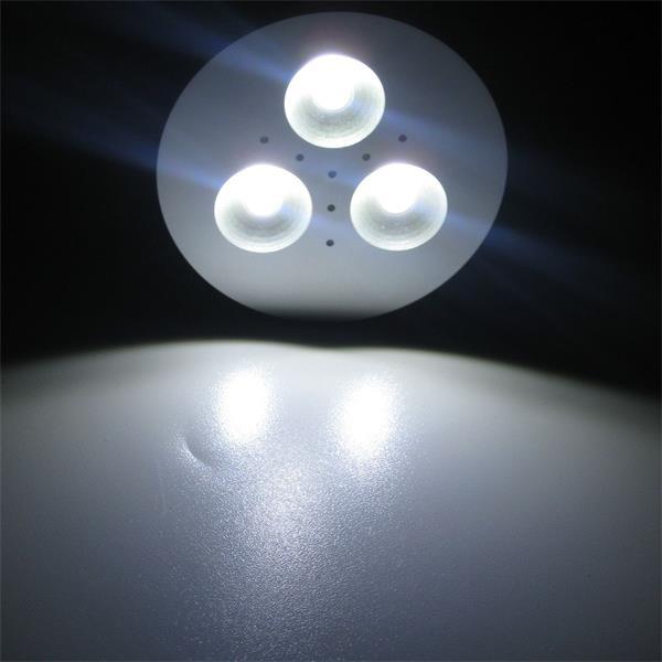 purweißes Licht für moderne Beleuchtungssysteme in Wohnbereichen