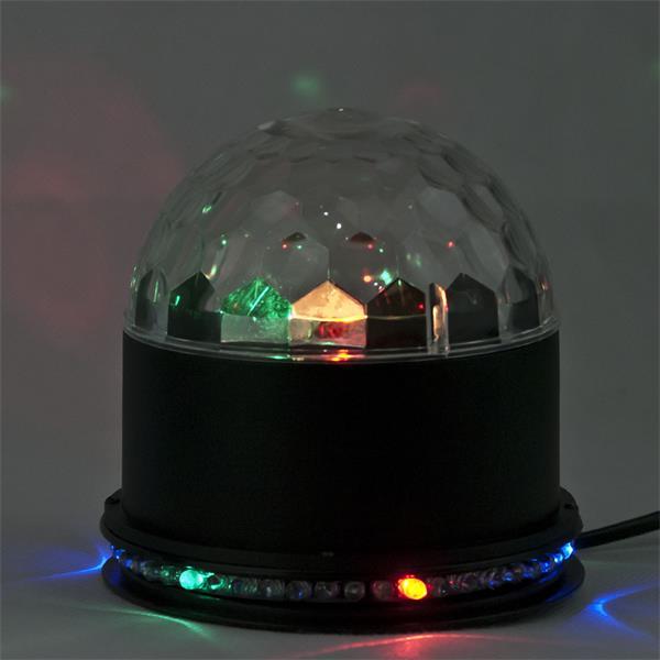 LED Partylicht mit automatischen oder musikgesteuerten Farbwechsel