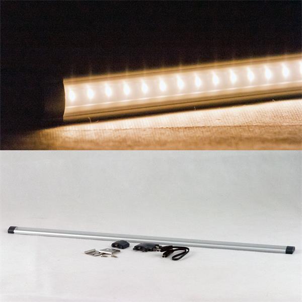 Unterbauleuchte LED dimmbar mit 50x 3528 LEDs und starken 410lm Lichtstrom