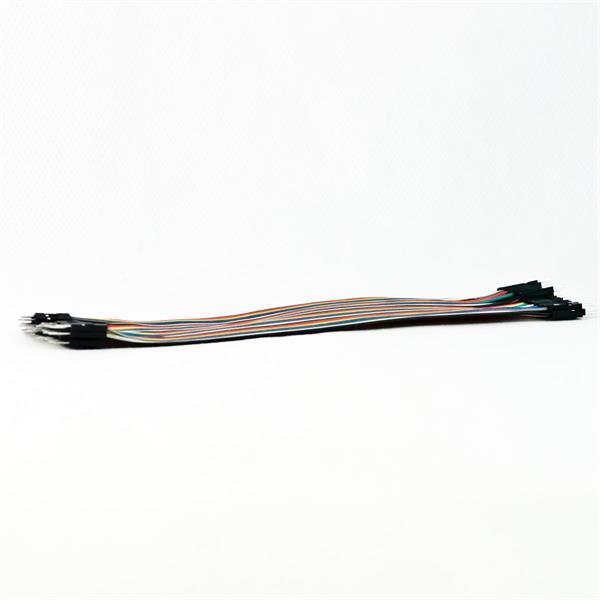 verschieden farbige, isolierte Steckverbinder mit ca. 20 cm Länge