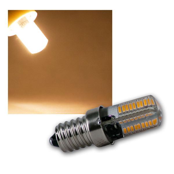 LED Lampe E14 72 SMD LEDs warm weiß 180lm 300°