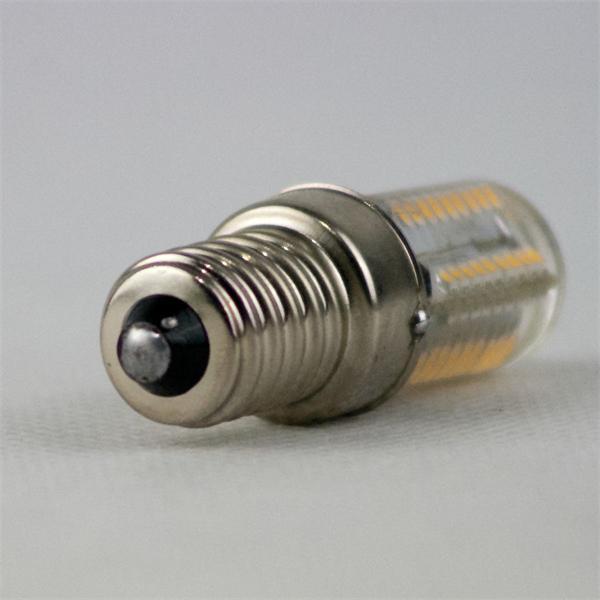 LED Leuchtmittel für den Kühlschrank Sockel E14 mit nur ca. 3W Verbrauch für 230V