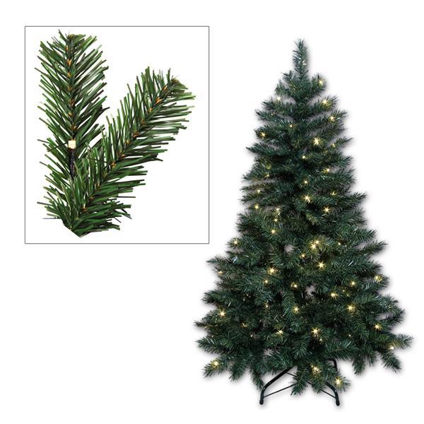 LED Weihnachtsbaum grün 180cm, 180 warmweiß LEDs