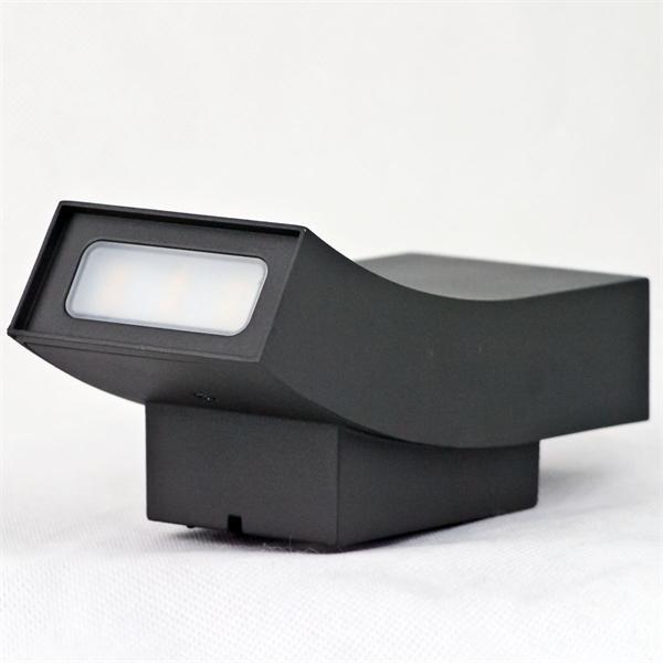 LED Außenleuchte mit 5630 SMD-LEDs und milchiger Abdeckung