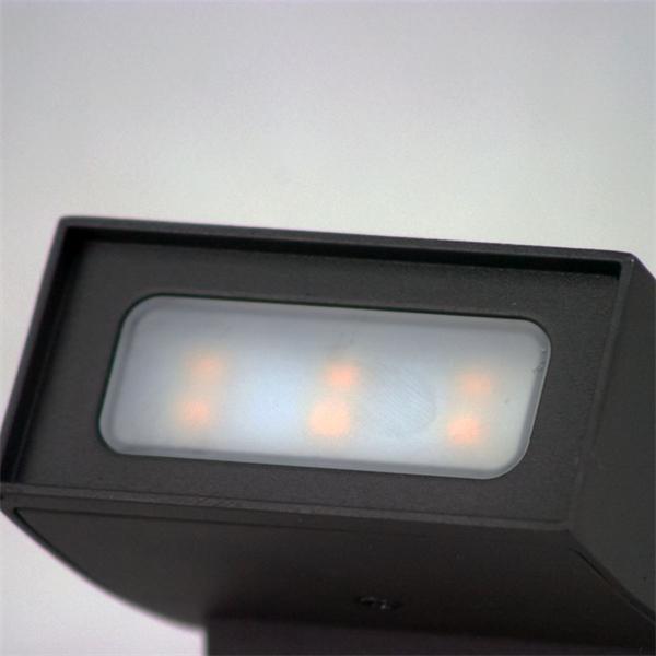 LED Wandleuchte mit je 240 Lumen und warmweißem Licht