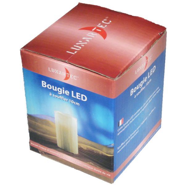 LED Kerze ohne Rußen, Wachsflecken für mehr Sicherheit