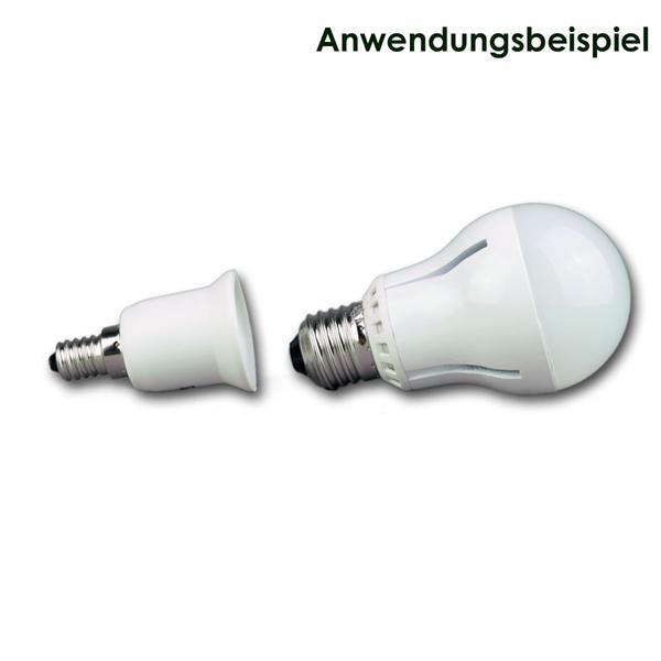E27 Strahler passend für Lampensockel E14