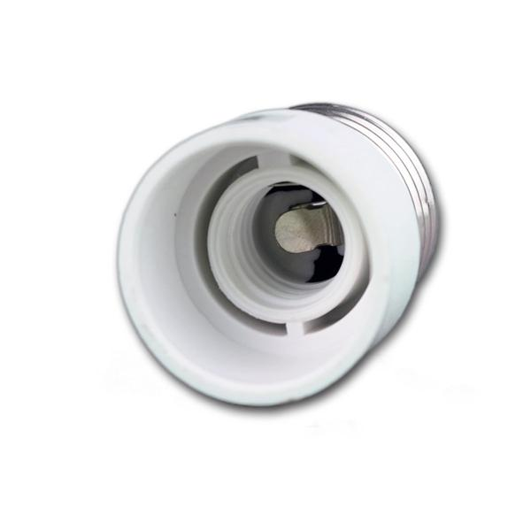 Konverter aus Kunststoff passend für Leuchtmittel mit E14 Sockel