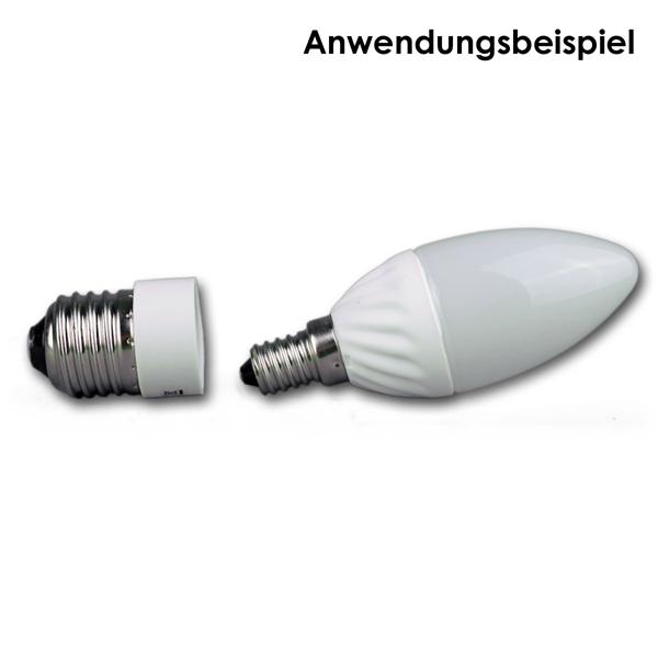 E14 Strahler passend für Lampensockel E27