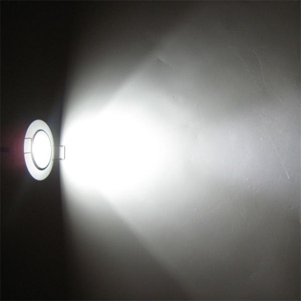 LED Einbauspot 12V mit 1x 3W Highpower CREE LED vergleichbar mit 25W Halogenstrahler