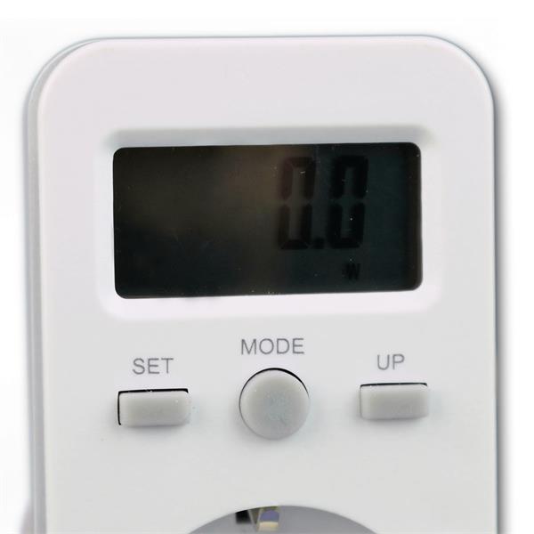 Messgerät zum Auffinden von Stromfressern mit großen übersichtlichen Display