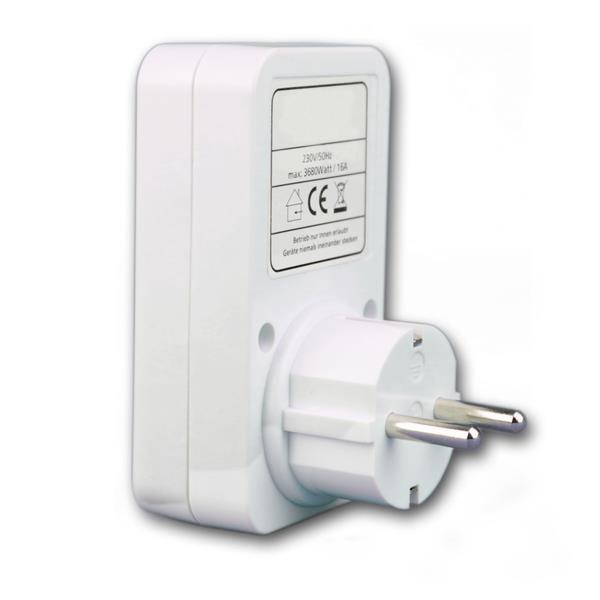 Energiekostenmesser mit Kinderschutzsicherung zur Errechnung des Energieverbrauchs