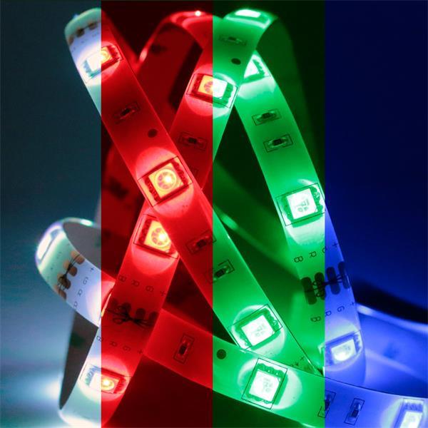 LED Dekolicht mit statischen oder wechselnde Farben