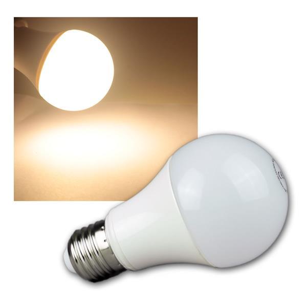 LED Glühlampe E27 G50 AGL warm weiß 470lm 230V 7W