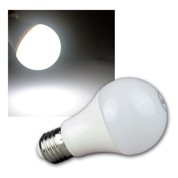 LED Glühlampe E27 G50 AGL kalt weiß 490lm 230V 7W