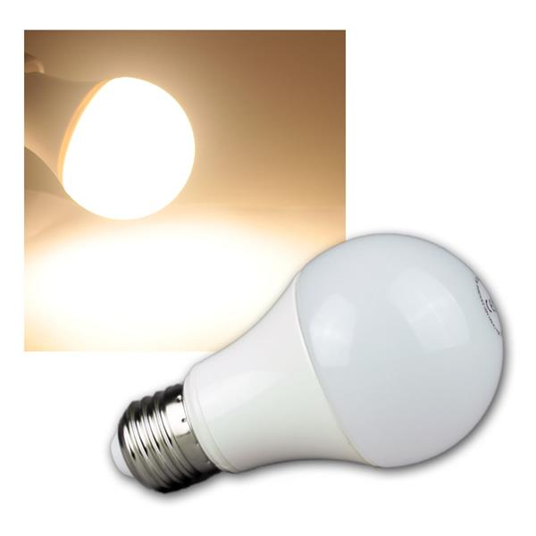 LED Glühlampe E27 G70 AGL warm weiß 800lm 230V 10W