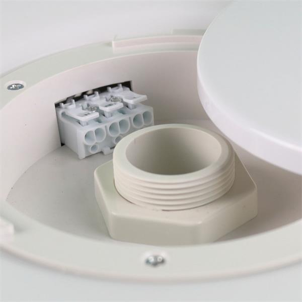 dimmbare LED Wohnraumlampe wird direkt an 230V angeschlossen