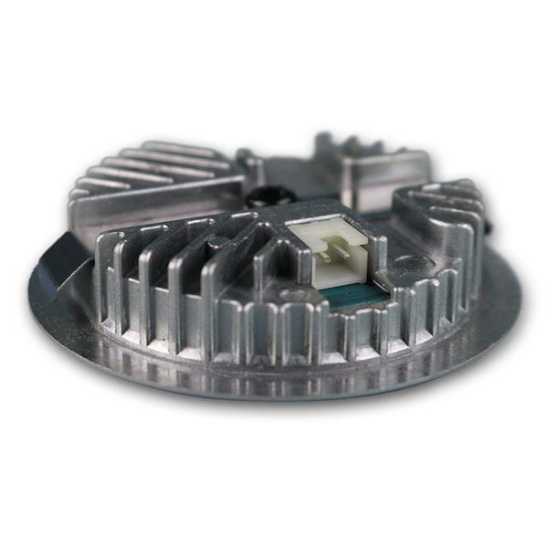 12V LED Einbaustrahler in Edelstahl ideal für flache Regalböden