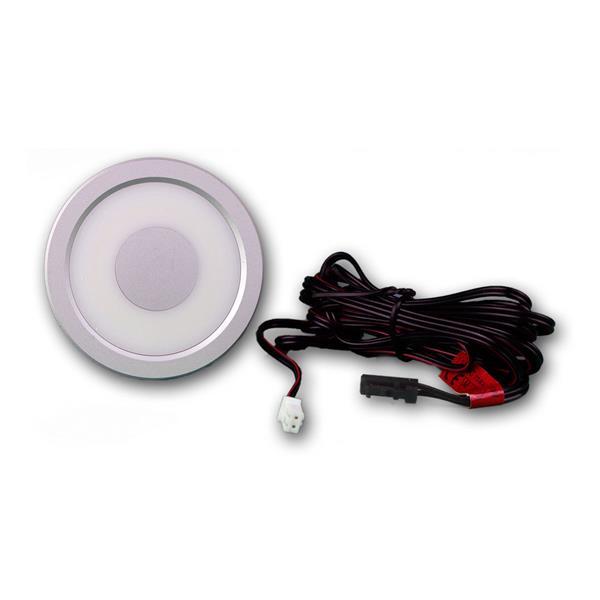 Einbaulampe LED 12V mit dem Maß 65x14mm (ØxH) und Mini-Steckeranschluss