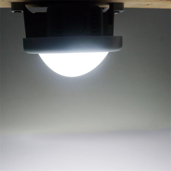 LED Wandleuchte mit Kunststoffgehäuse und der Leuchtfarbe daylight