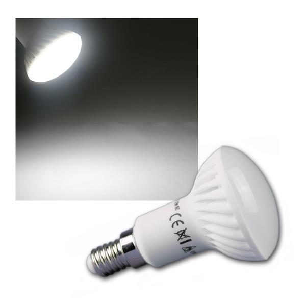 LED Reflektorstrahler R50 350lm E14 4W kalt weiß