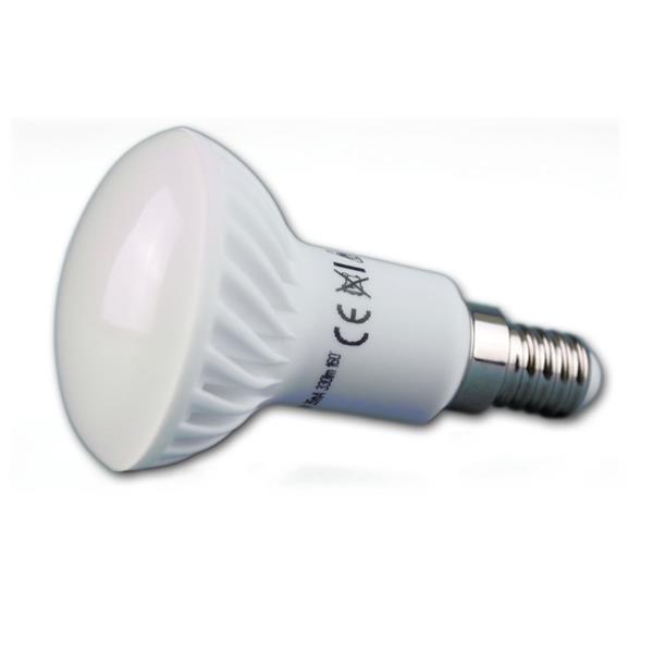 LED Reflektor Lampe mit dem Maß 50x85mm und bruchsicherer Kunststoffabdeckung